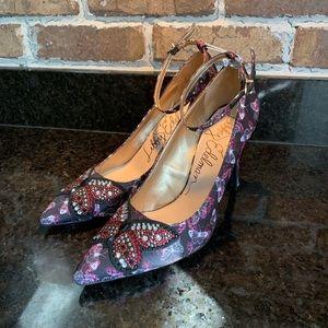 Libby Edelman heels butterfly detail